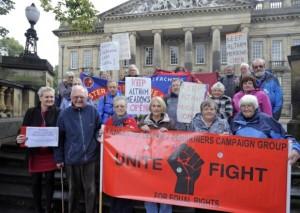 Lancaster pensioners campaign